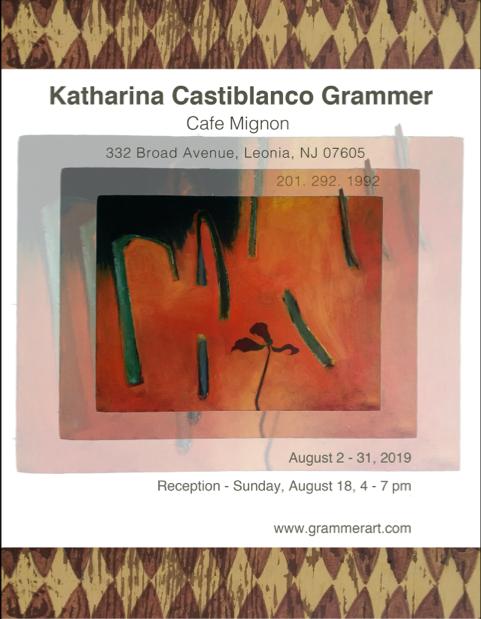 Katharina Castiblanco Grammer Art Exhibit
